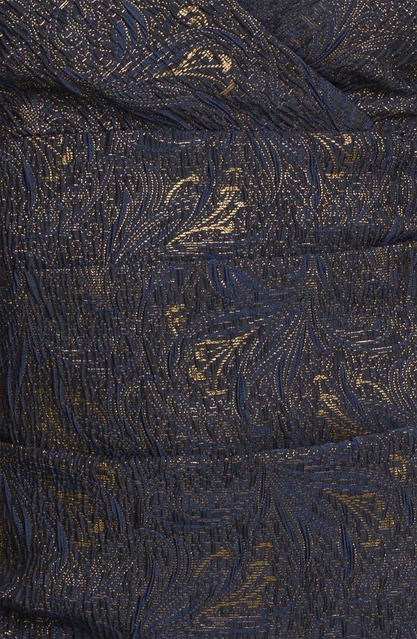 Alternate Image 3  - Alex Evenings Ruched Textured Sheath Dress