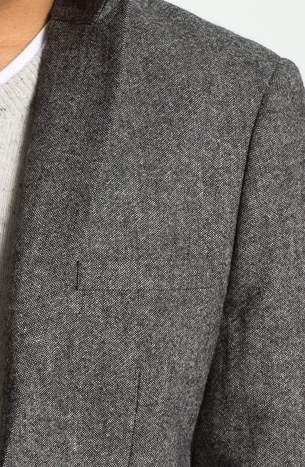 Alternate Image 3  - Original Penguin Peak Lapel Tweed Blazer