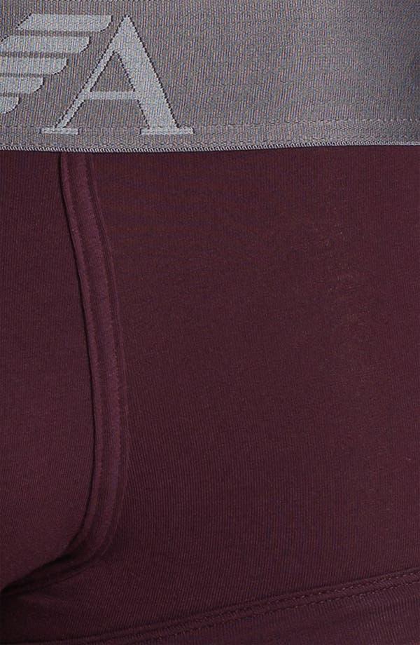 Alternate Image 3  - Emporio Armani Stretch Cotton Trunks