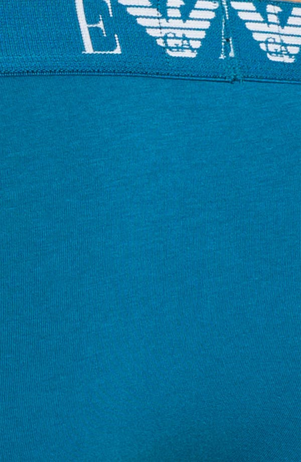 Alternate Image 3  - Emporio Armani Stretch Cotton Briefs (2-Pack)