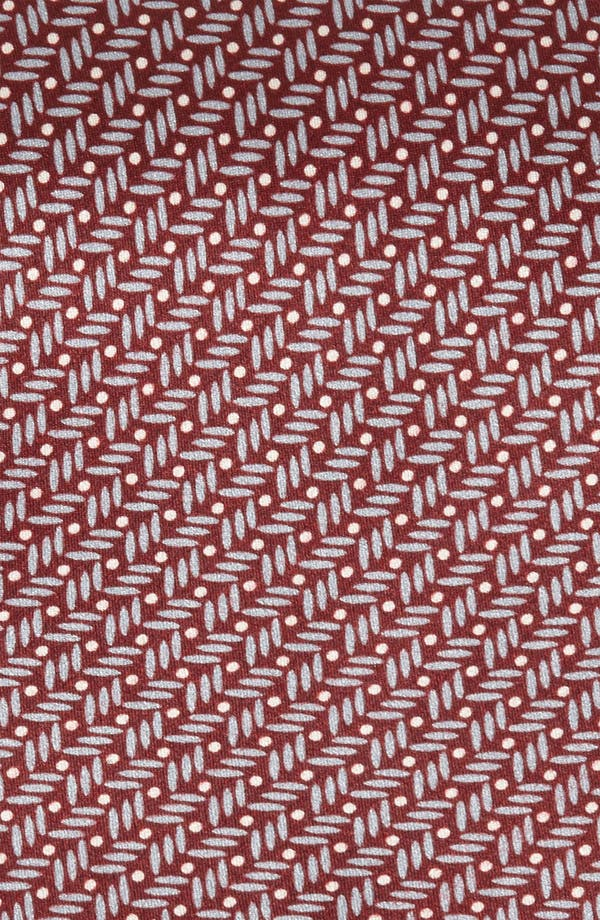 Alternate Image 2  - Yves Saint Laurent Stripes & Dots Silk Woven Tie