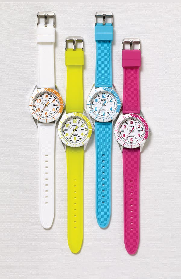 Alternate Image 2  - Timex® 'Originals Sport Brights' Silicone Strap Watch