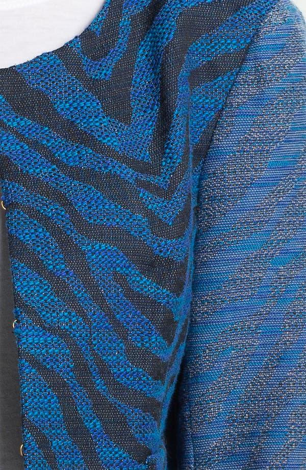 Alternate Image 3  - Gryphon Zebra Jacquard Jacket