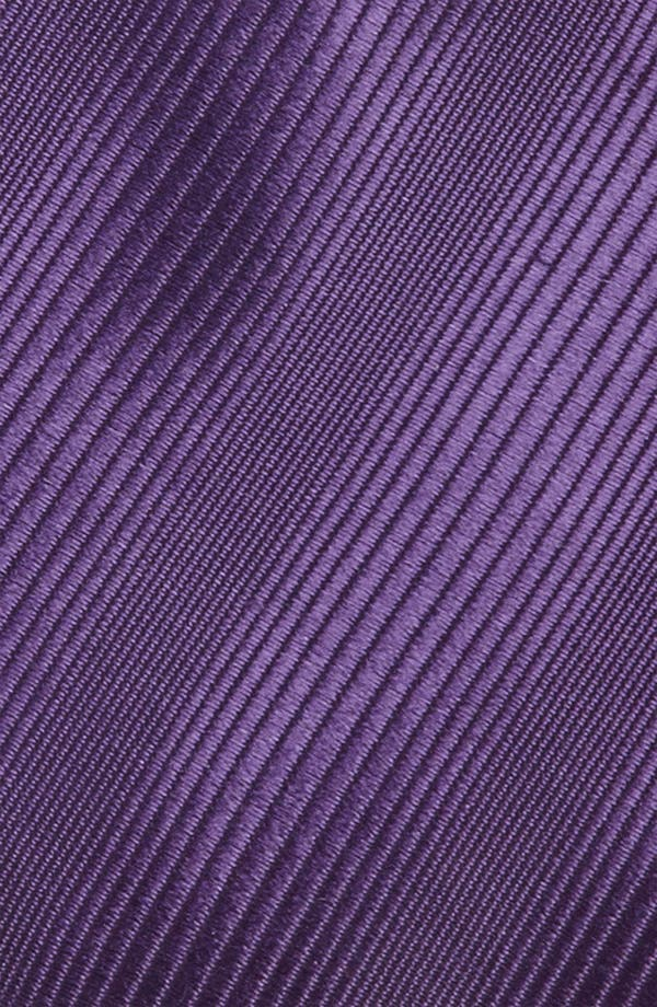 Alternate Image 2  - Yves Saint Laurent Tonal Stripe Woven Silk Tie