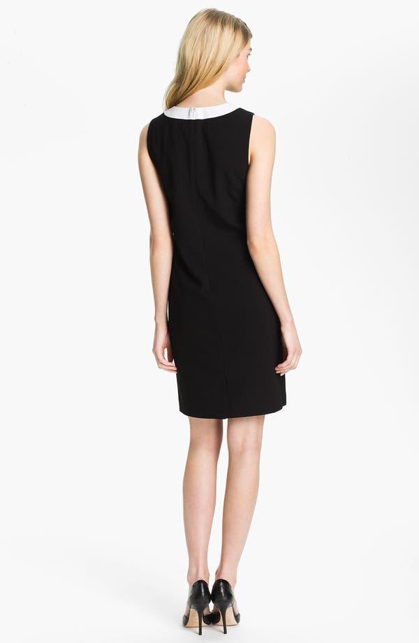 Alternate Image 2  - Calvin Klein V-Neck Shift Dress