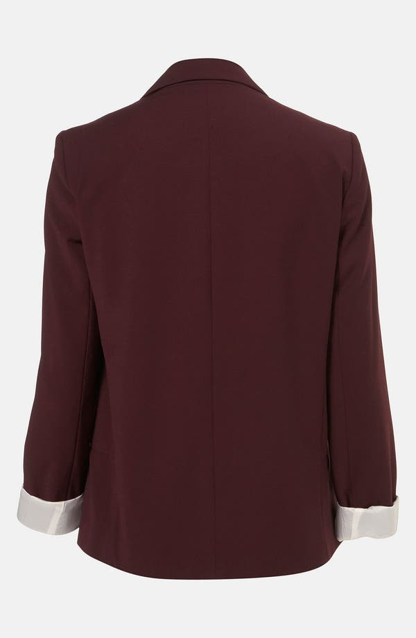 Alternate Image 2  - Topshop 'Matty' Blazer