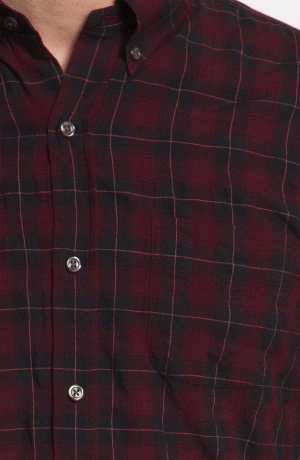 Alternate Image 3  - Vince Plaid Woven Shirt