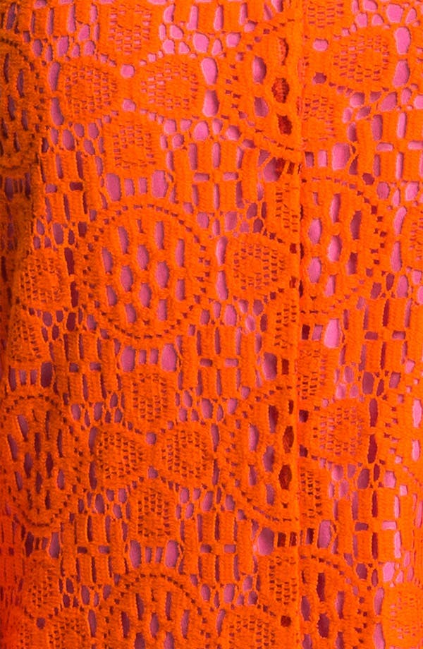 Alternate Image 3  - Trina Turk 'Crandon' Keyhole Detail Lace Shift Dress