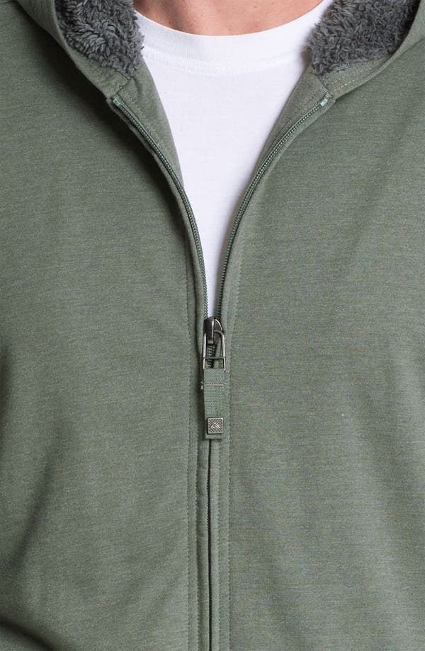 Alternate Image 3  - Quiksilver 'Tofino Beach' Zip Hoodie