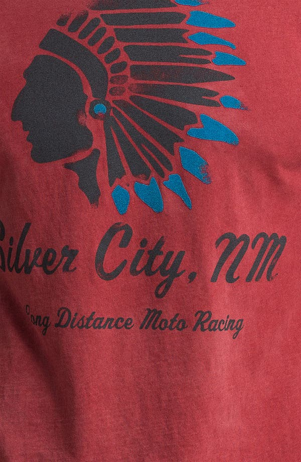 Alternate Image 3  - Denim & Leathers by Andrew Marc 'Silver City, NM' Graphic T-Shirt