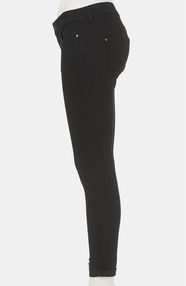 Alternate Image 4  - Topshop 'Leigh' Skinny Jeans (Petite)