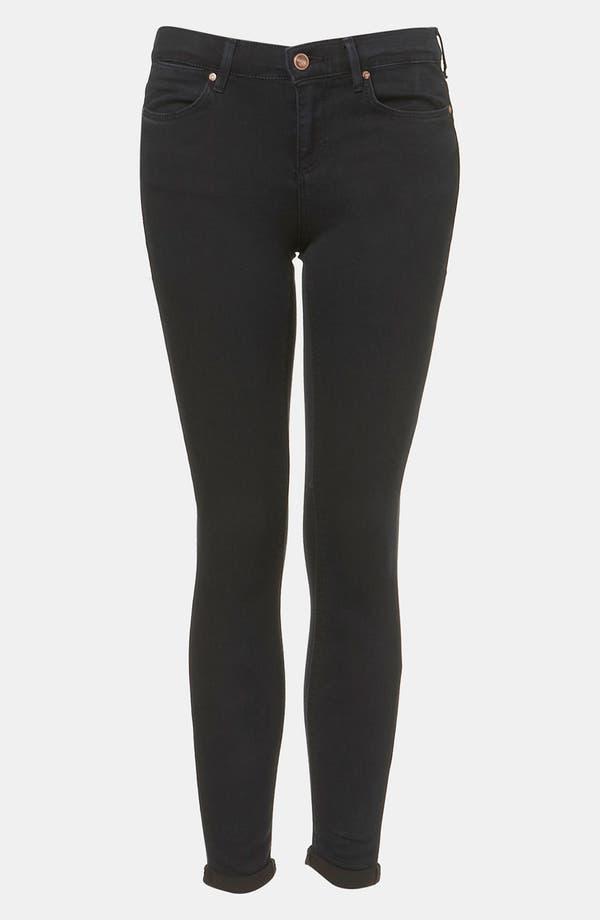 Main Image - Topshop Moto 'Leigh' Skinny Jeans (Petite)