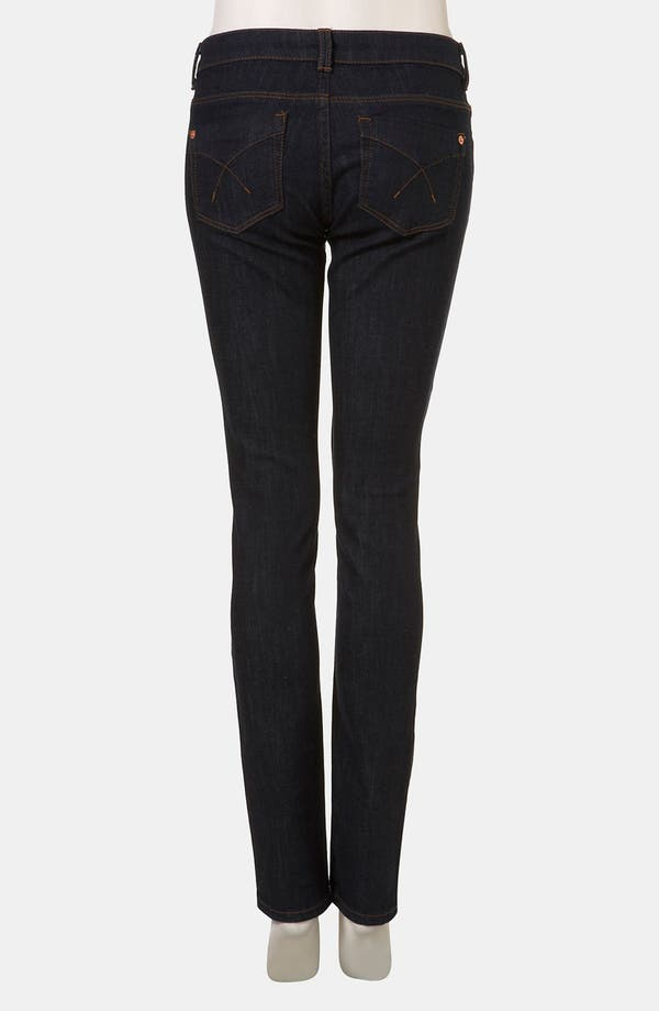 Alternate Image 2  - Topshop Moto 'Baxter' Skinny Jeans (Indigo)