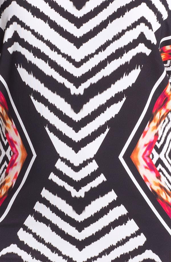 Alternate Image 3  - Carmen Marc Valvo Mixed Print Cover-Up