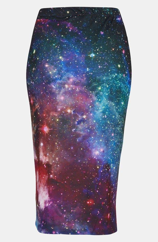 Alternate Image 2  - Topshop 'New Cosmic' Print Tube Skirt