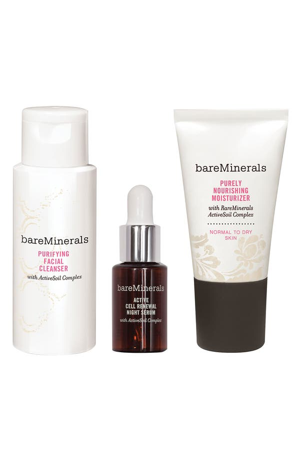 Alternate Image 1 Selected - bareMinerals® 'Youth Revealed' Discovery Kit for Normal/Dry Skin
