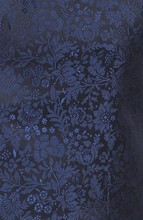 Alternate Image 2  - David Donahue Floral Silk Vest