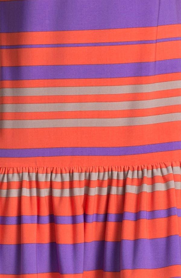 Alternate Image 3  - Donna Morgan 'Sydney' Stripe Drop Waist Dress