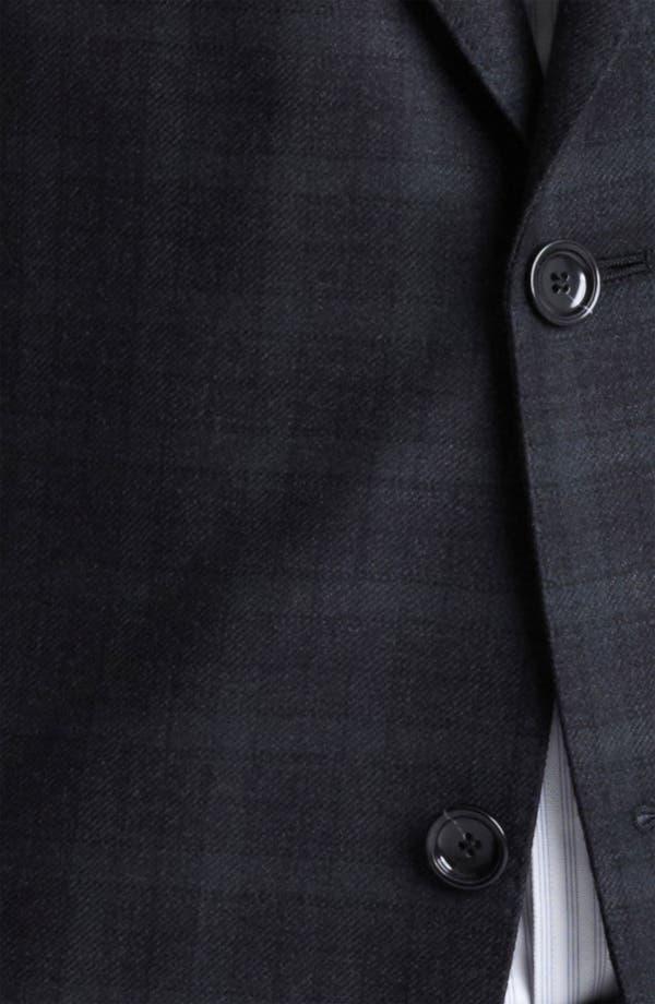 Alternate Image 3  - Z Zegna Trim Fit Check Blazer