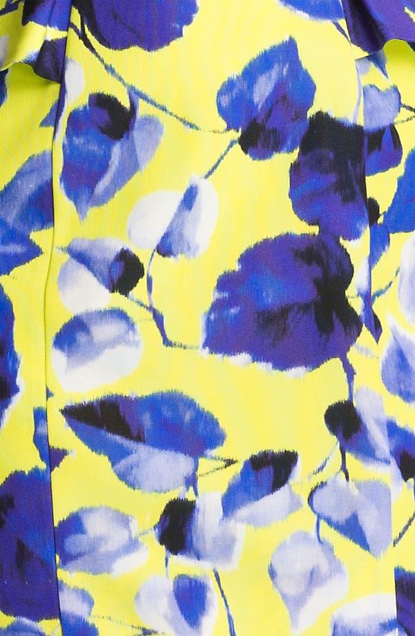 Alternate Image 3  - Milly Print Cotton Blend Sheath Dress