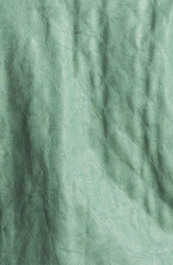 Alternate Image 3  - Jou Jou Quilted Faux Leather Jacket (Plus)