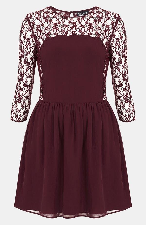Main Image - Topshop 'Flippy' Dress