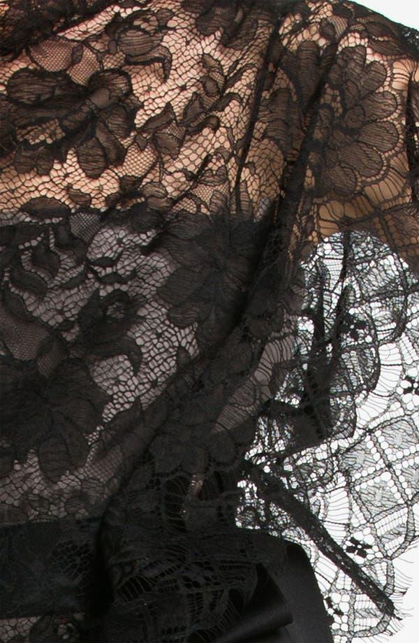 Alternate Image 3  - Lanvin Side Draped Lace Dress