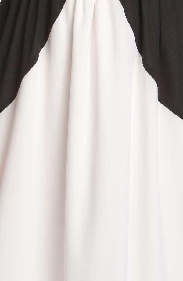 Alternate Image 3  - Vince Camuto Colorblocked Chiffon Maxi Dress