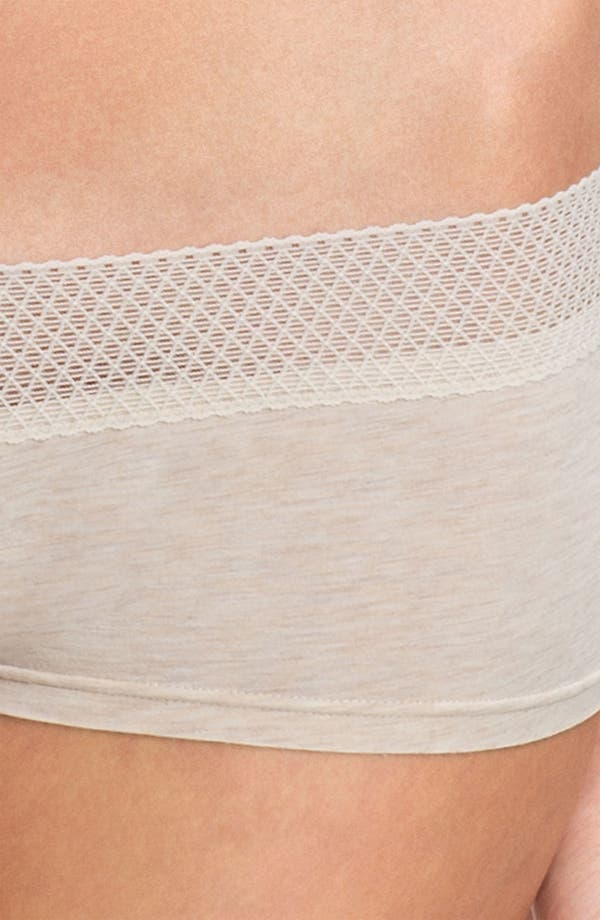 Alternate Image 2  - Splendid Mesh Waistband Girl Shorts