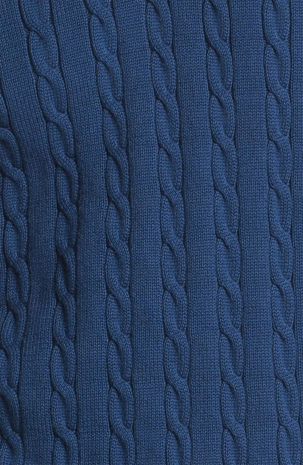 Alternate Image 3  - Brooks Brothers Cable Knit Sweater Vest