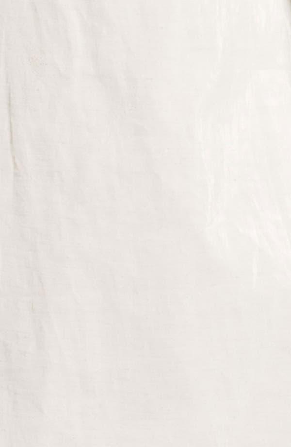 Alternate Image 4  - Helene Berman 'Mod' Coated Linen Blend Coat