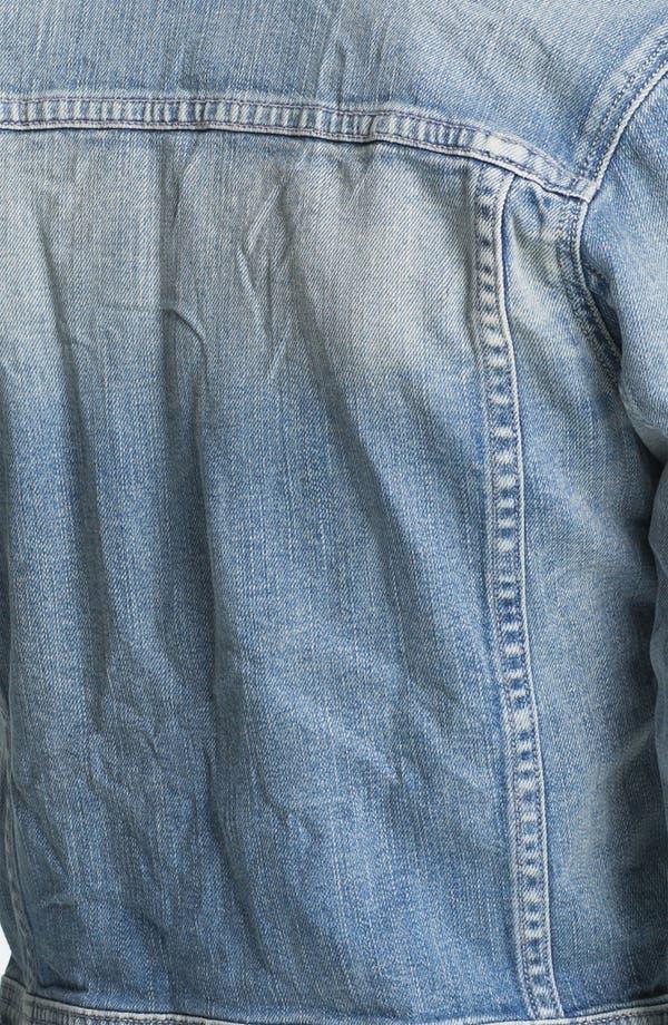 Alternate Image 3  - Maison Scotch 'Etoile' Embellished Collar Denim Jacket