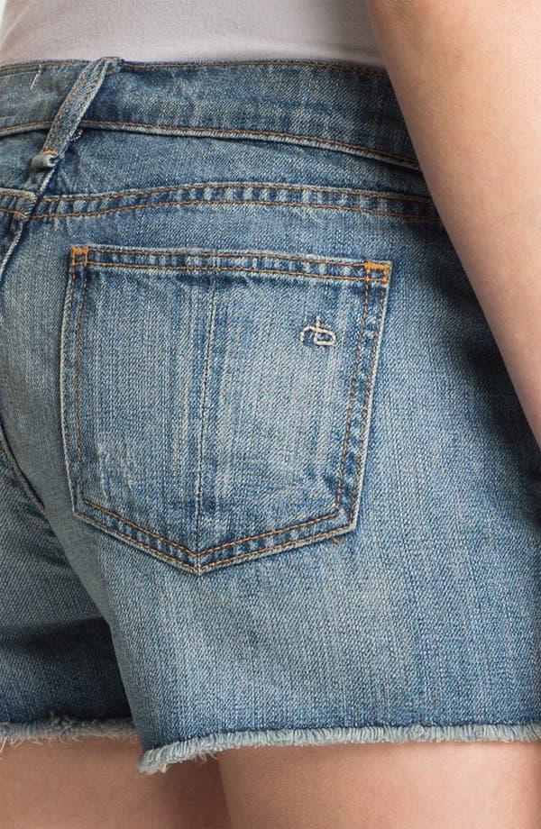 Alternate Image 6  - rag & bone/JEAN 'The Cutoff' Denim Shorts