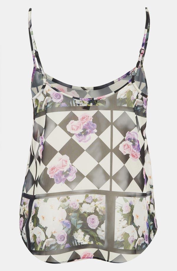 Alternate Image 2  - Topshop 'Floral Chalkboard' Print Camisole