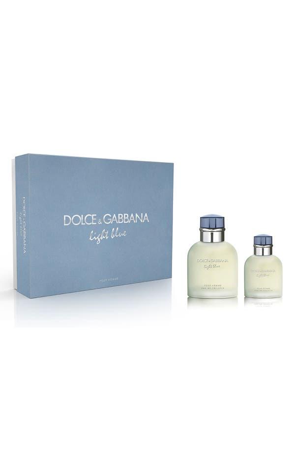 Alternate Image 1 Selected - Dolce&Gabbana Beauty 'Light Blue pour Homme' Gift Set ($118 Value)