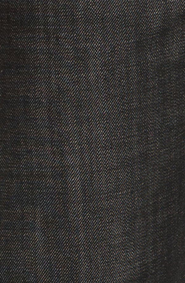 Alternate Image 4  - A.P.C. 'New Standard' Slim Straight Leg Jeans (Black) (Online Only)