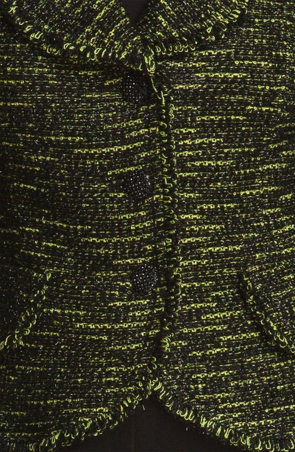 Alternate Image 5  - St. John Collection Fringe Tweed Jacket