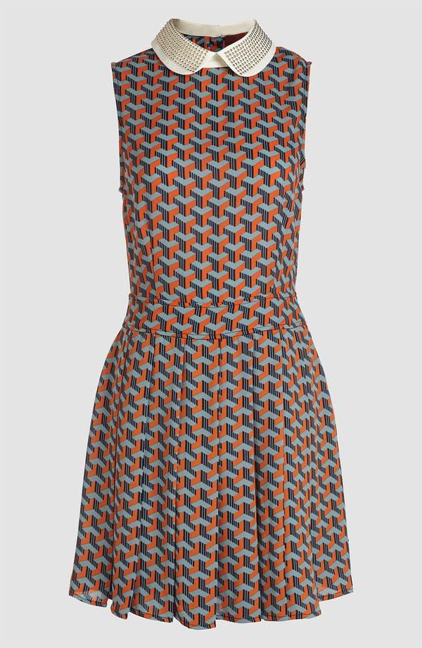 Main Image - I.Madeline Stud Collar Dress