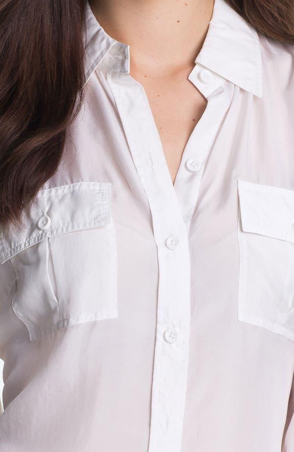 Alternate Image 3  - Go by go Silk Safari Shirt