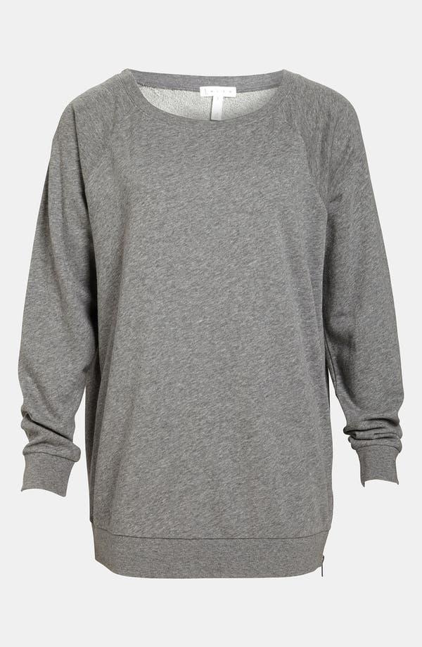 Main Image - Leith Zip Shoulder Sweatshirt