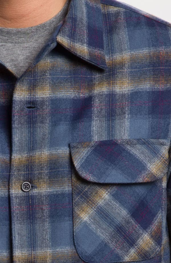 Alternate Image 3  - Pendleton 'Board' Fitted Plaid Wool Flannel Shirt