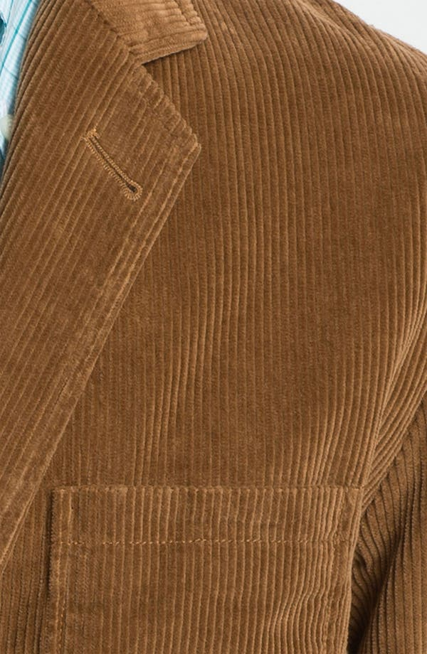 Alternate Image 3  - Brooks Brothers 'University Flatiron' Corduroy Blazer