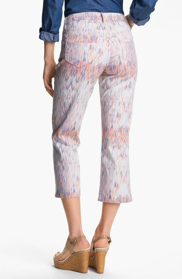 Alternate Image 2  - Christopher Blue 'Chloe' Print Crop Jeans