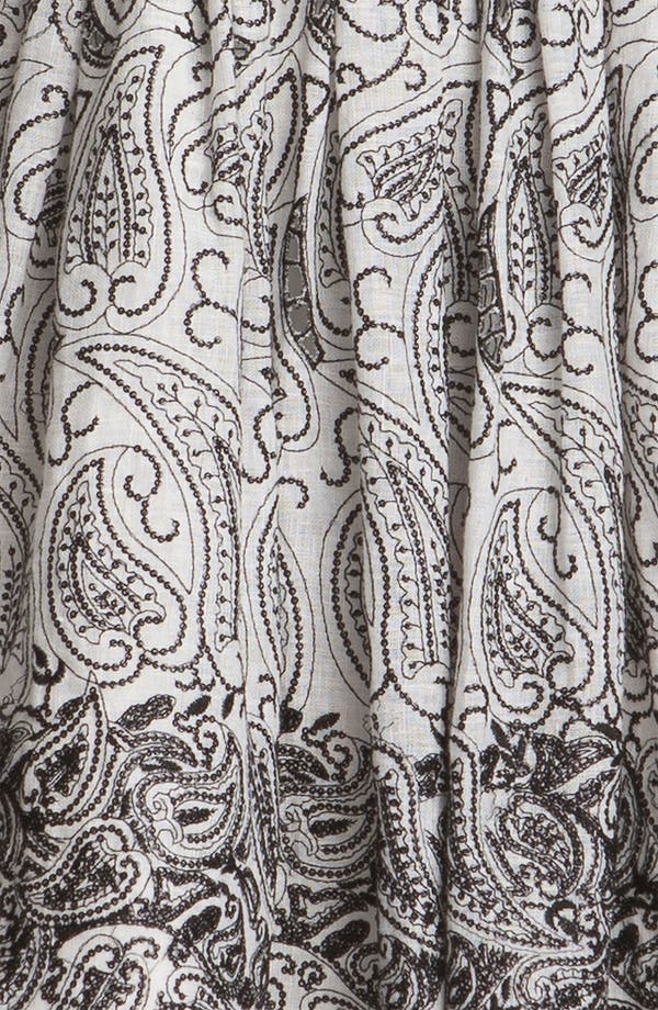 Alternate Image 3  - Alice + Olivia Paisley Print Flared Dress