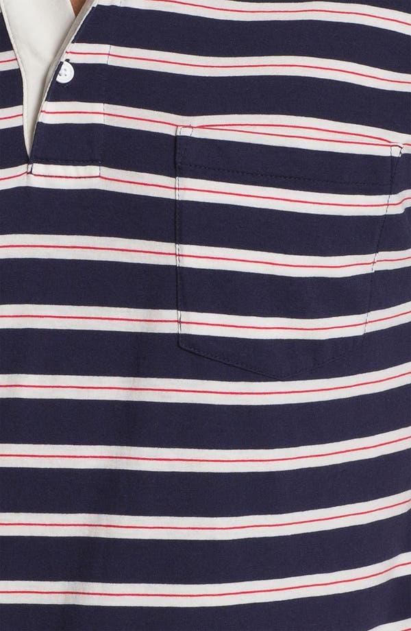 Alternate Image 3  - Gant Rugger Stripe Jersey Polo