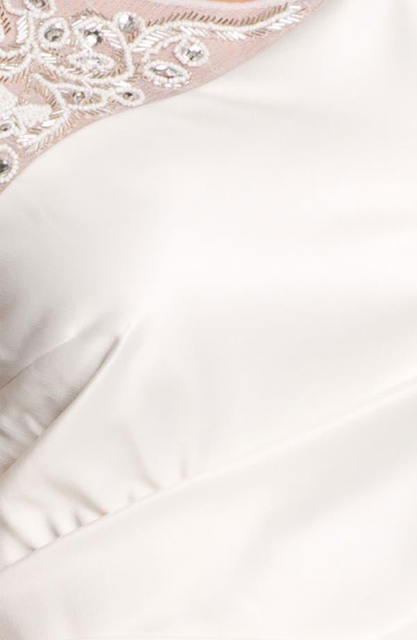Alternate Image 3  - Eliza J Embellished Ruched Sheath Dress