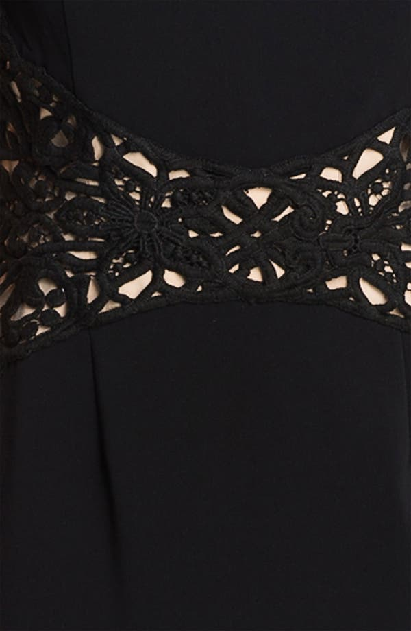 Alternate Image 3  - Donna Ricco Sleeveless Sheath Dress (Petite)
