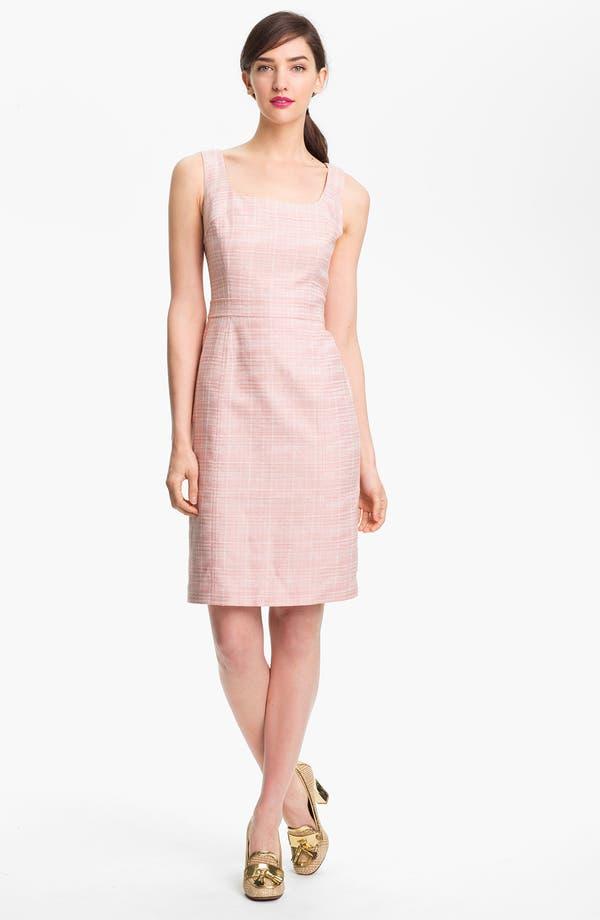 Alternate Image 1 Selected - Tory Burch 'Jaydon' Cotton Blend Sheath Dress