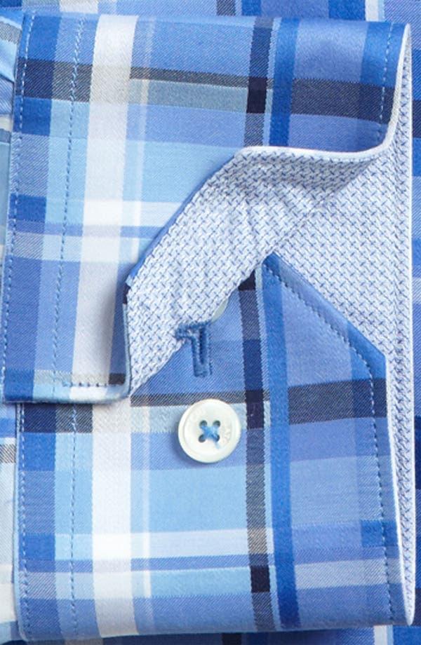 Alternate Image 5  - BUGATCHI Classic Fit Sport Shirt