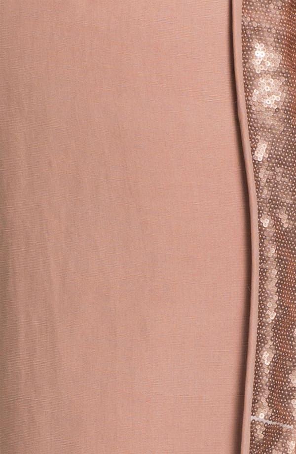 Alternate Image 3  - Diane von Furstenberg 'Kamaris' Sequin Tuxedo Stripe Pants